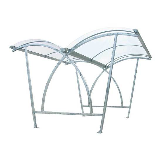 FalcoLite double-sided cycle shelter