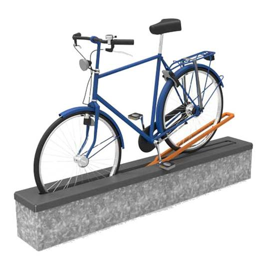 FalcoAlign fold-away temporary cycle stand