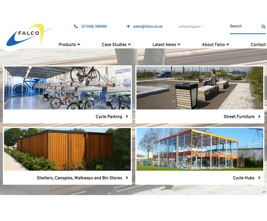 New website launched by Falco