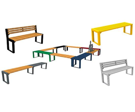 New FalcoAcero external seating range