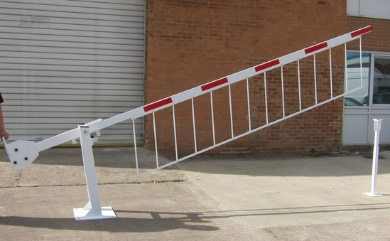 Manually Operated Rising Arm Traffic Control Barriers