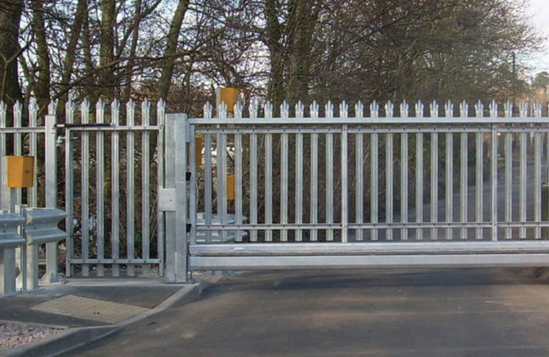 CG1000 automatic cantilever sliding security gate