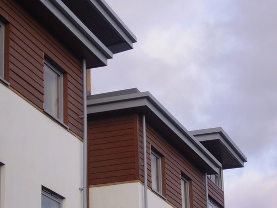 Bamburgh Extruded Aluminium Half Round Gutters Bailey