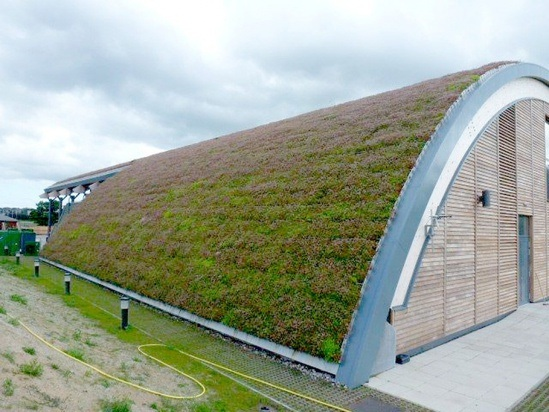 Green Barrel Roof For St Andrews Links Golf Club Bailey