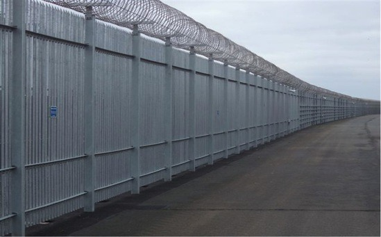 Stronguard Maximum Security Steel Palisade Fencing