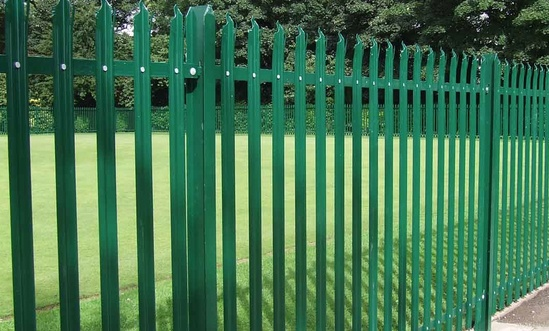 PALISADE - steel palisade high-security fencing