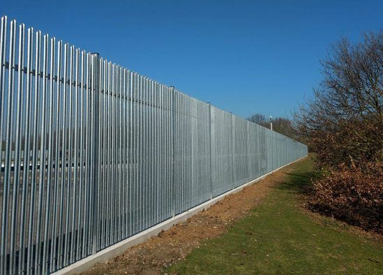 StronGuard SR3 palisade security fencing