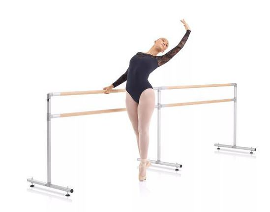 Large free standing ballet barre