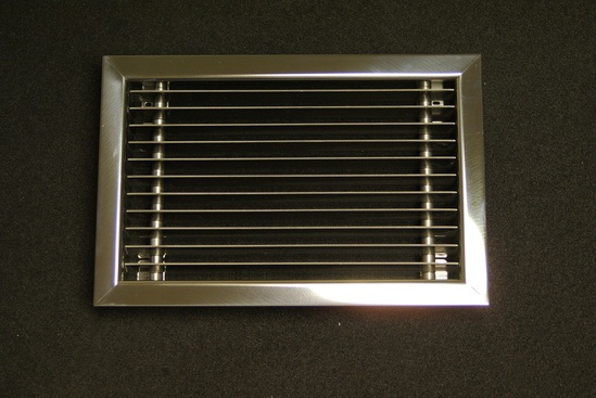 R Fixed Blade Return Exhaust Air Grille Brooke Air Esi