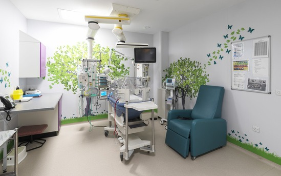 Resistant and visually appealing hospital environment