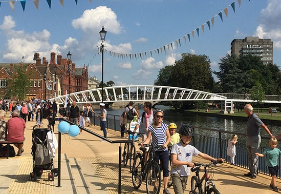 Footbridge - Bedford Riverside