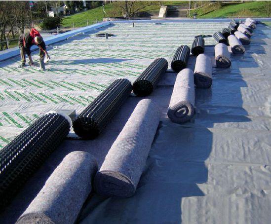 Delta 174 Floraxx Top Water Retaining Green Roof Membrane