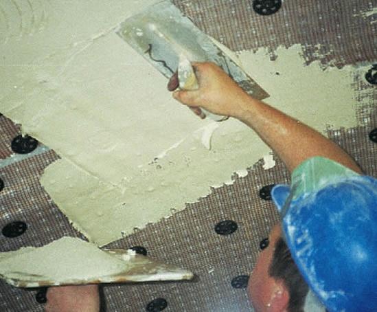 DELTA® PT waterproof membrane andDELTA® MS 500