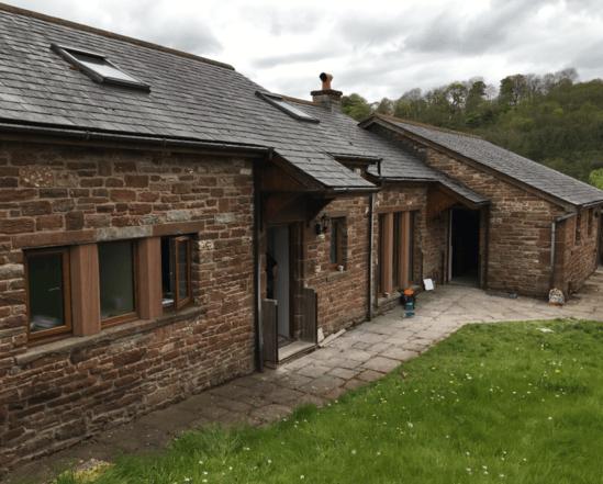 Edenside Barn, Eden valley, Cumbria