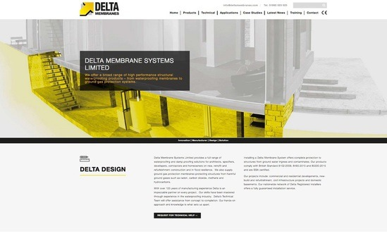 Delta Membrane Systems launches new website