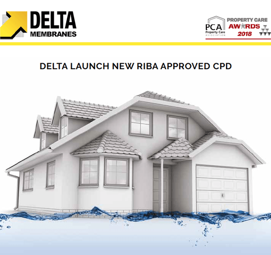 RIBA approved Flood Resilience CPD from Delta Membranes