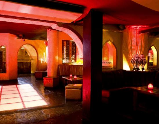 Po Na Na vaulted cellar area of night club