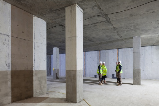 Delta specialises in structural waterproofing products