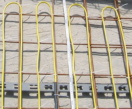 FLEXFLOOR KYCY underfloor heating cables