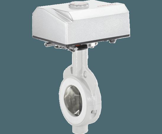 GEMÜ 498 motorized butterfly valve