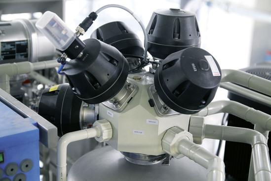 GEMU plastic multi-port valve block (M-Block)