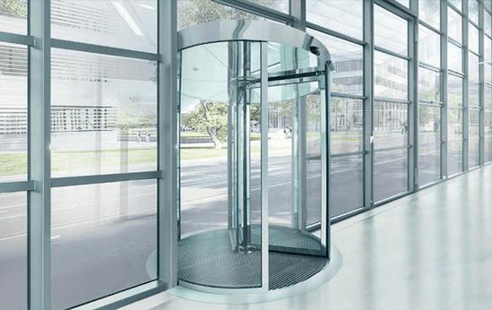 Tsa 325 Revolving Door Geze Uk Esi Building Design