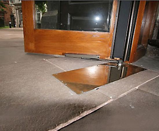 Tsa 160 Ufo Automatic Underfloor Door Operator Geze Uk