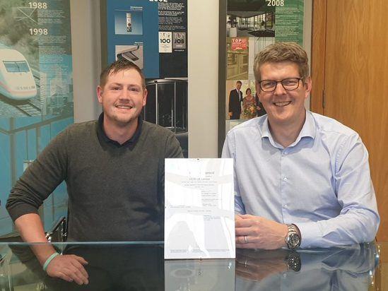 GEZE UK receives ISO 45001