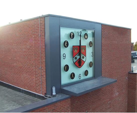 School bespoke clock
