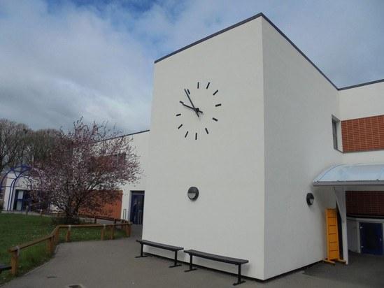 Crofton School clock