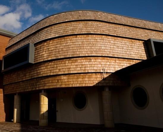 Red Cedar School ~ Jb shingles for llwynderw school marley eternit esi