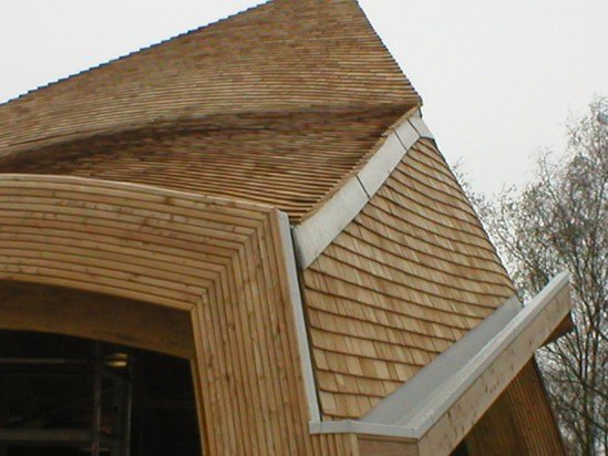 Fire retardant cedar shingles shornewood country park for Fire resistant roofing