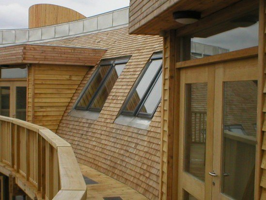 Fire Rated Roofing : Fire retardant cedar shingles shornewood country park