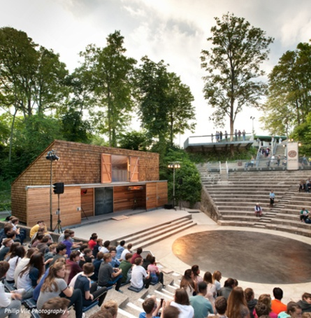 Red cedar shingles bring historic theatre back to life