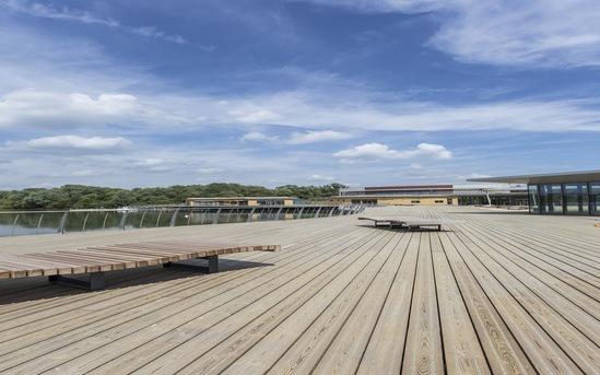 JB Antislip Plus® decking, Rushden Lakes