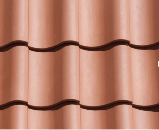 Natural Red clay pantile