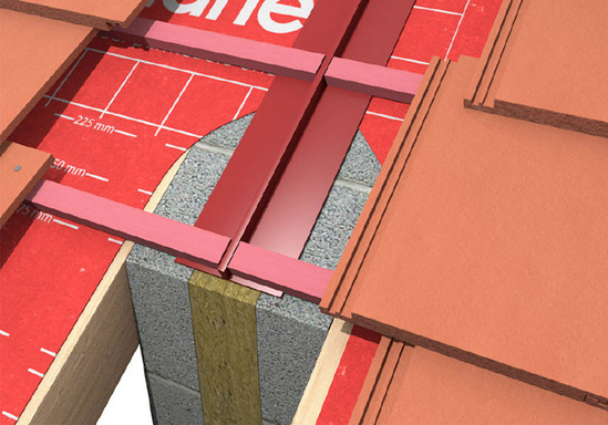 Roof Defense Intumescent Roof Fire Barrier