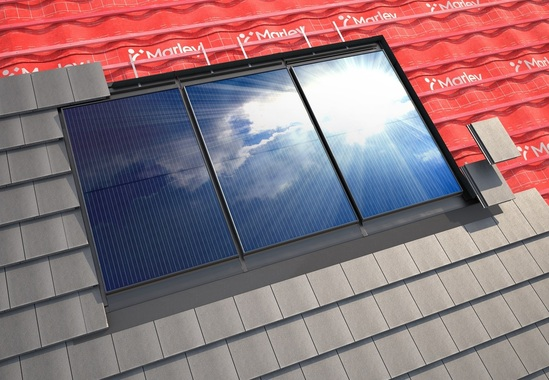 Marley SolarTile® 335W integrated solar roof covering