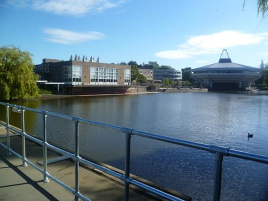 Handrails installed for university