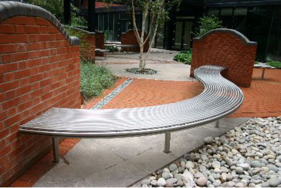 CL007 Centerline Curved  Bench