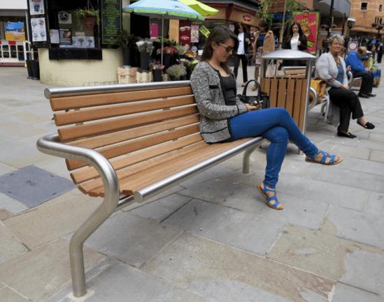 Benchmark Street Furniture - Shoreline SL003 seat