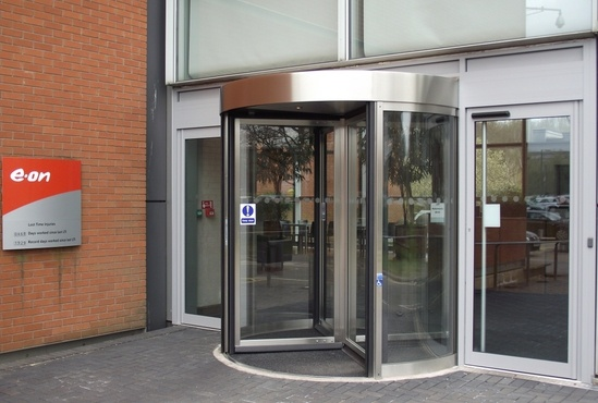 Low-energy entrance for E.ON HQ in Coventry