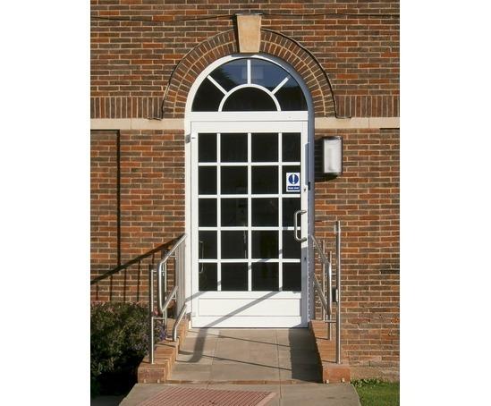 Door entrance drive, Merchant Taylors' School