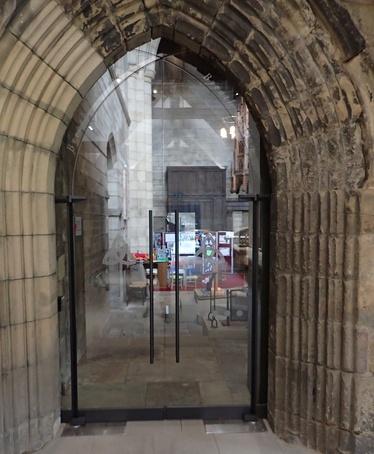 TORMAX automatic swing doors, Hexham Abbey