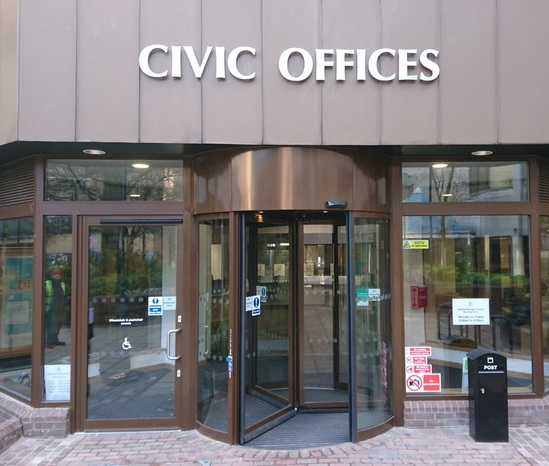 Civic office building benefits from TORMAX entrance