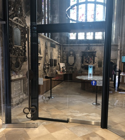 Automatic entrance doors for Gloucester Cathedral