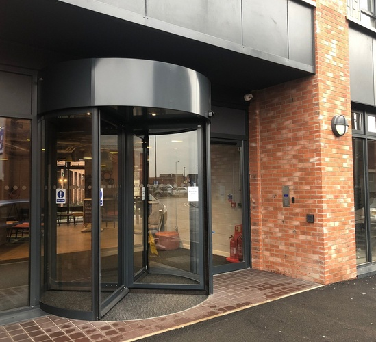 Student accommodation benefits from TORMAX auto doors
