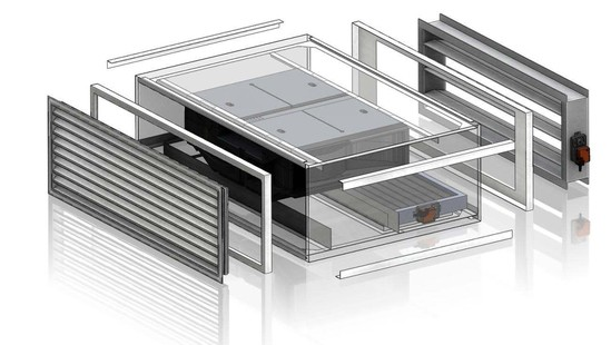 Hybrid Ventilation System : Htm f hybrid thermal mixing ventilation system