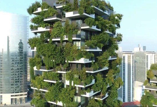 Bosco Verticale, Milan - to be discussed in workshop