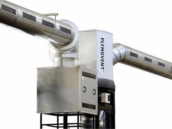Push-pull ventilation system